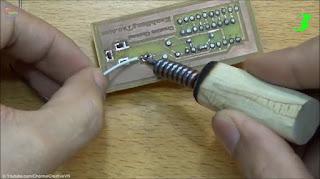 Cara Membuat sendiri solder dari kompor alkohol