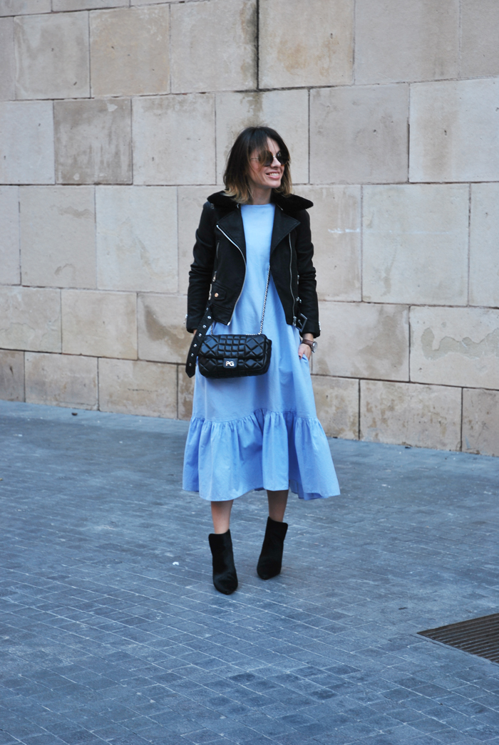 perfecto-midi-blue-dress-