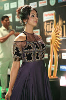 Sanjjanaa Galrani aka Archana Galrani in Maroon Gown beautiful Pics at IIFA Utsavam Awards 2017 51.JPG