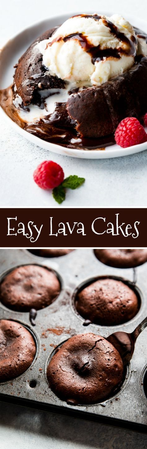 Easy Lava Cakes