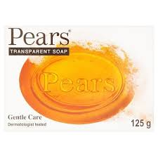 Pears Transparent Soap Gentle Care 125G
