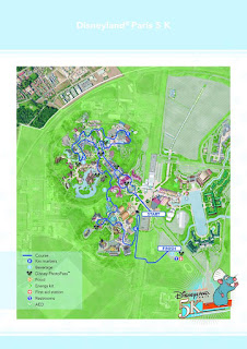 Week End Semi-Marathon Disneyland Paris 2016 - Parcours 5 km