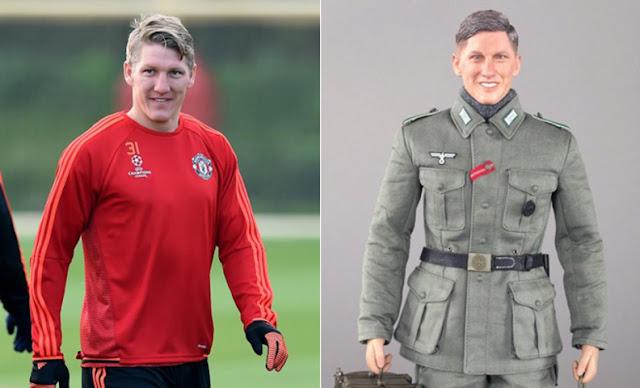"""""""Bastian"""", el muñeco nazi que ha indignado a Schweinsteiger"""