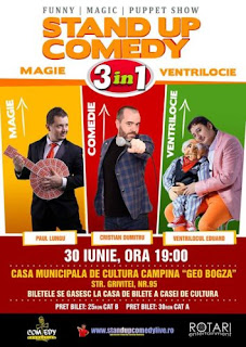 Stand-Up Comedy Campina Vineri 30 Iunie 2017