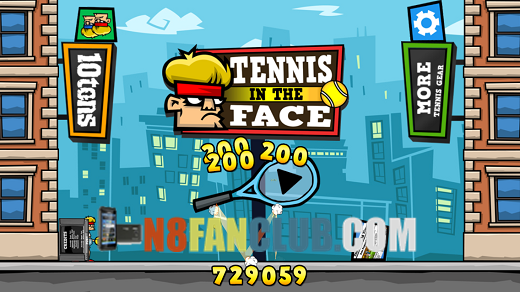 Tennis in the Face 1.0 Signed for Nokia N8
