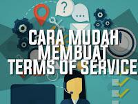 Cara Lengkap Dan Mudah Membuat Terms Of Service Blog