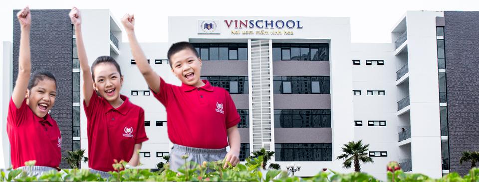 Khu trường học cao cấp tại Vinhomes D'Capitale