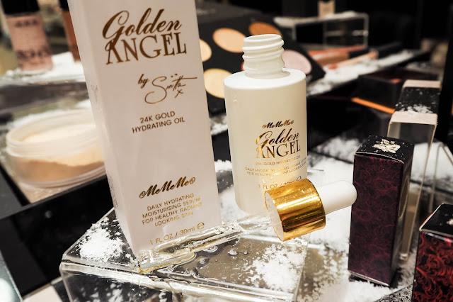 MeMeMe Cosmetics 24k gold oil