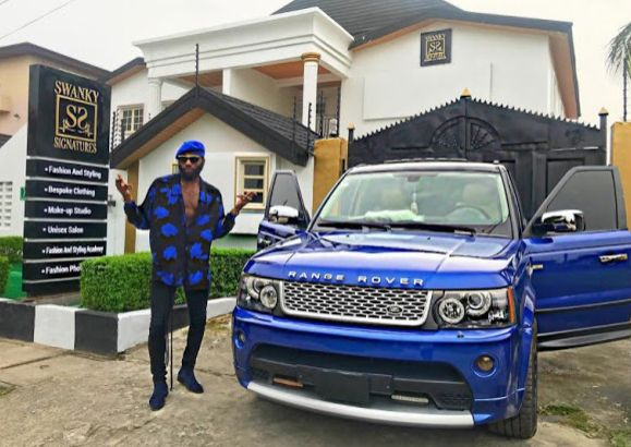 Big Boy Swanky Jerry Shows His Newly Completed House and Range Rover