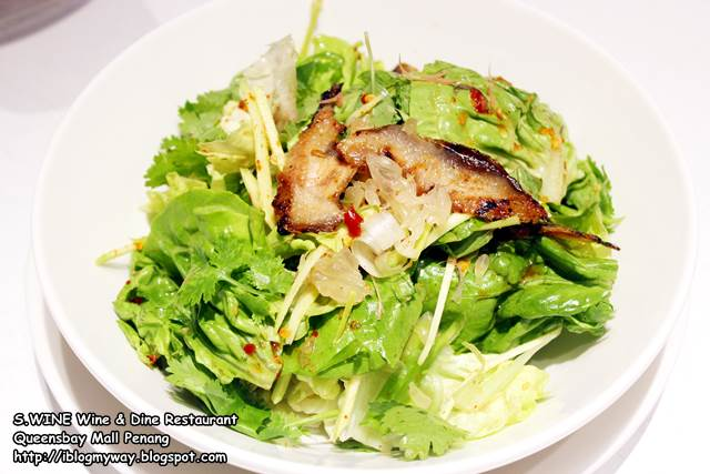 Grilled Pork Neck Green Mango Salad Swine 2017