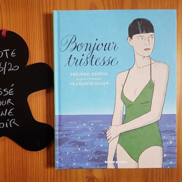 Bonjour tristesse (BD) de Frédéric Rébéna et Françoise Sagan