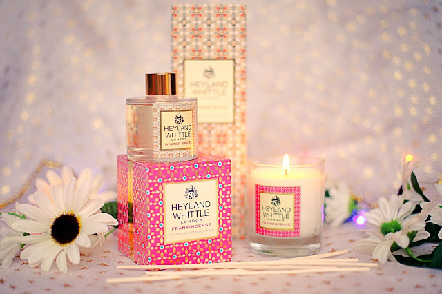 Home fragrance Heyland Whittle Candle Reed Diffuser christmas gift ideas