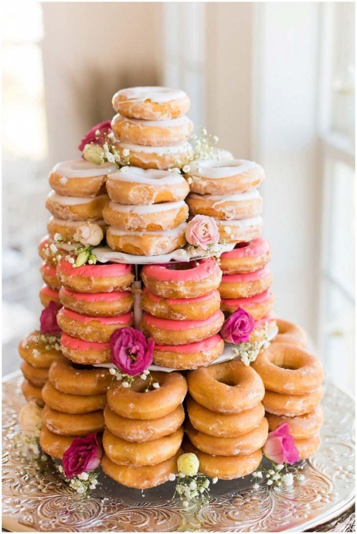 Donut Wedding Cake Cake Magazine