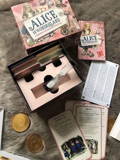 Alice in Wonderland collection of puzzles - Emma in Bromley - Christmas 2016