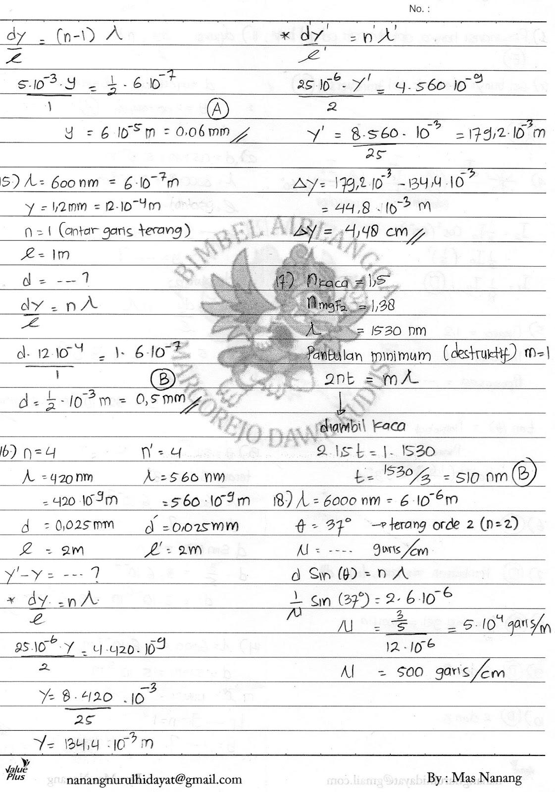 Kunci Jawaban Fisika Erlangga Kelas Xii Marthen Kanginan Kunci Masa Depan