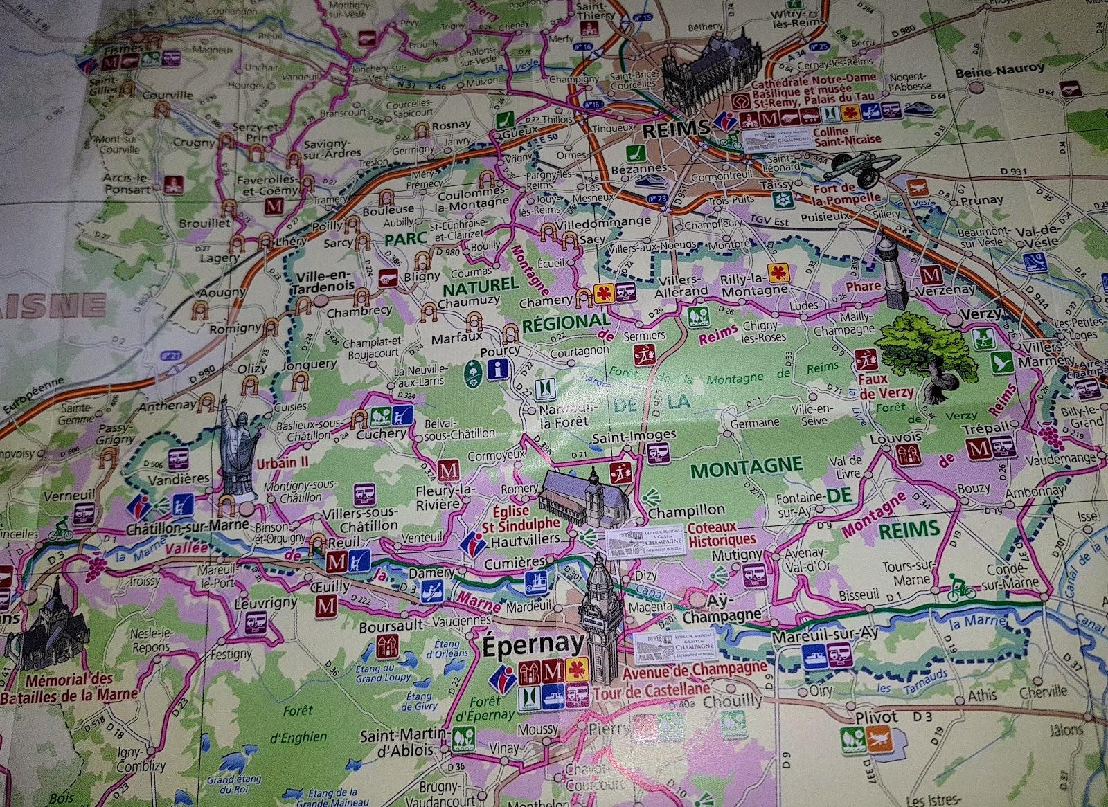karta champagnedistriktet Husbilen, Stefan och Lena : Frankrike, champagne distriktet karta champagnedistriktet