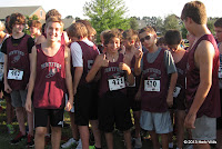 Montford boys cross-country team