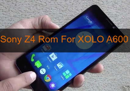 [MT6572] Sony Z4 Rom For XOLO A600