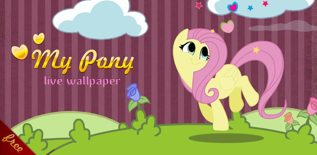 Android Live Fluttershy Wallpaper