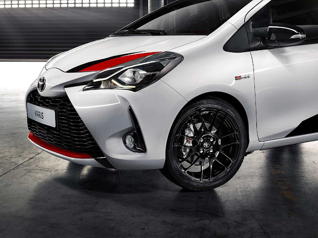 Toyota Yaris GRMN wheels
