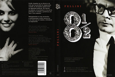 Carátula, Cover, DvD: Ocho y medio | 1963 | Otto e mezzo