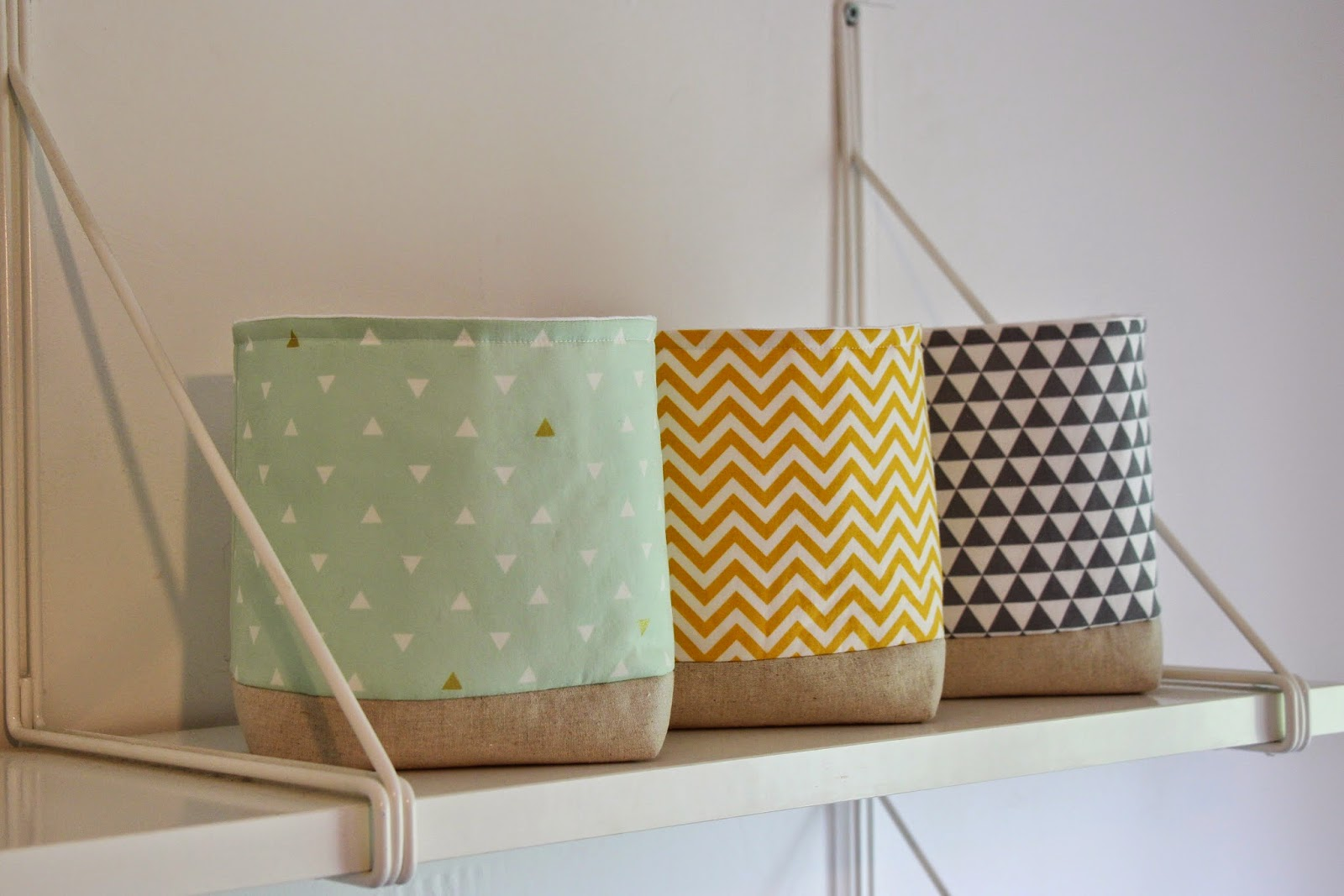 Lined Baskets For Nursery Thenurseries