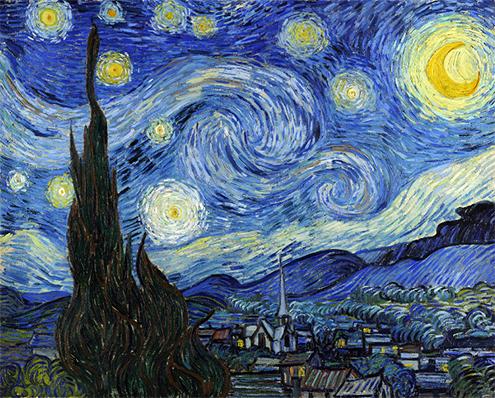 Resultado de imagen para van gogh la noche estrellada
