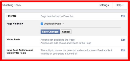 how to create a facebook business page uk