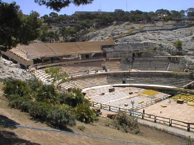 Anfiteatro de Cagliari - Cerdeña - que visitar