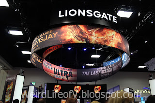 Lionsgate Mockingjay signage