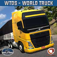 World Truck Driving Simulator 1.053 Apk + [Mod Unlimited Gold]