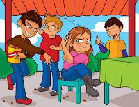 Resultuado de imagen para conflictos escolares animados