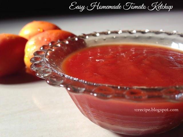 Tomato Ketchup - Recipe Book