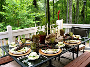 Outdoor Summer Dining...