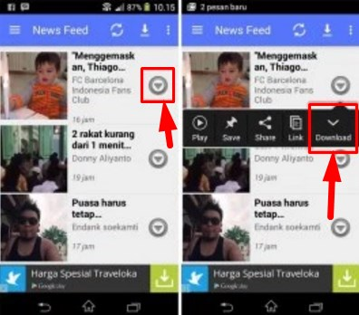 facebook video downloader for android apk
