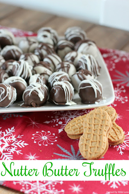 Nutter Butter Truffles recipe from Served Up With Love