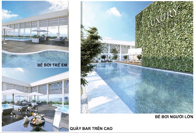 Tiện ích hoàn hảo tại Luxury Apartment