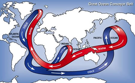 Currents and Circulation Patterns in the Oceans