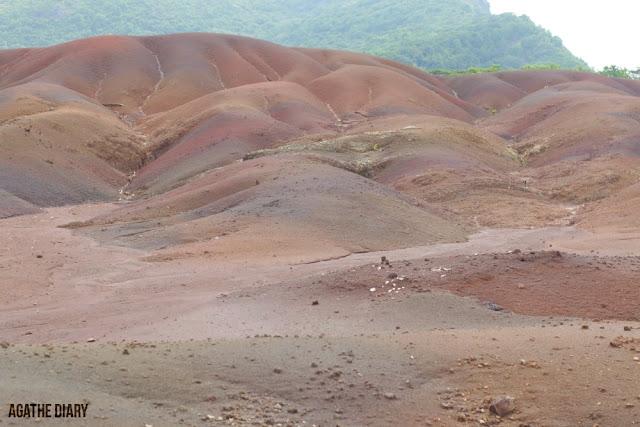 La Terre de 7 couleurs île Maurice Agathe Diary