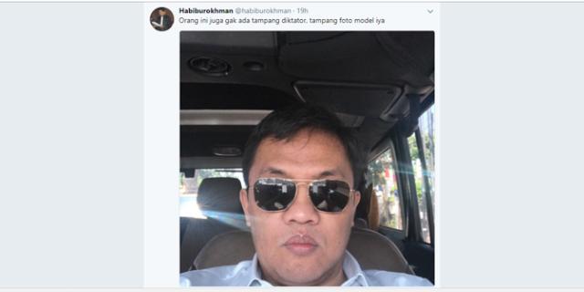 Habiburokhman : Orang ini tidak ada tampang diktator, Photo Model iya