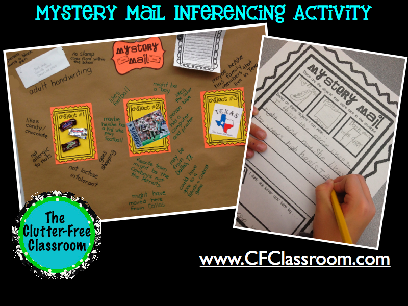 It is a photo of Printable Inference Games for christmas