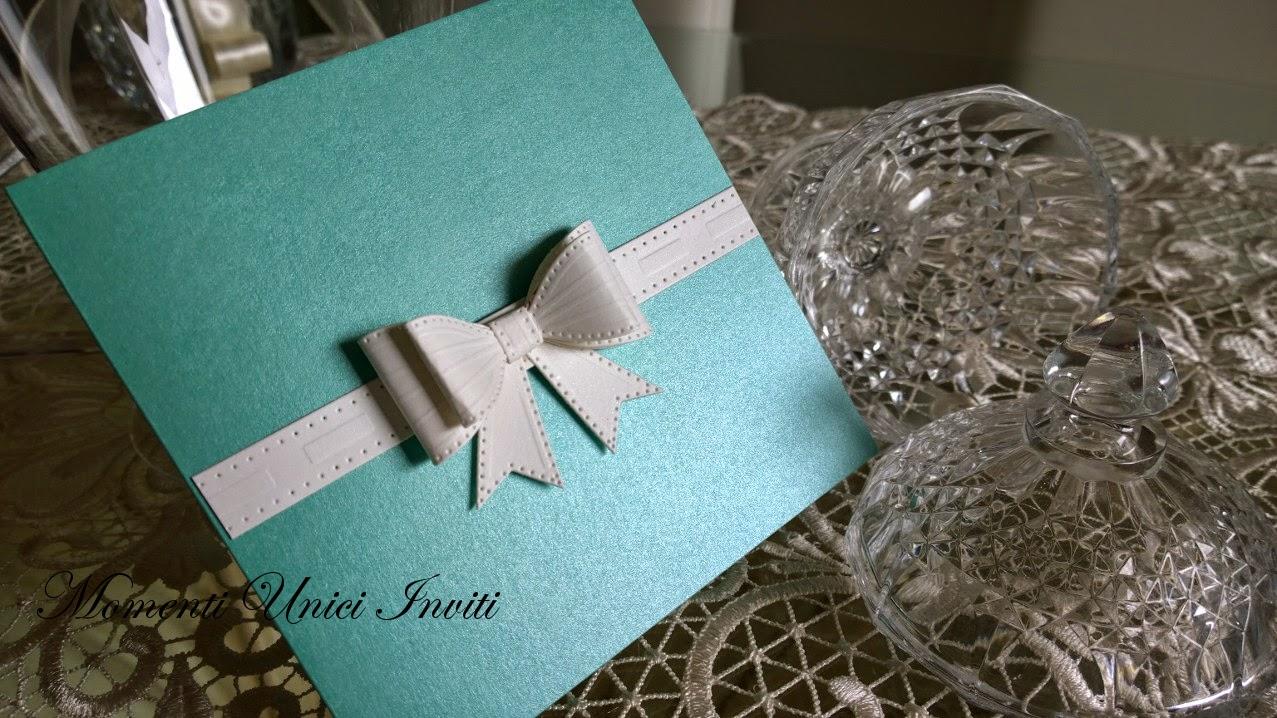 111111 Partecipazione Elegance in TiffanyColore Tiffany