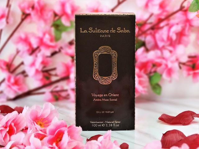 avis Voyage en Orient - Ambre, Musc, Santal de La Sultane de Saba, blog parfum, blog beauté, blog bougie
