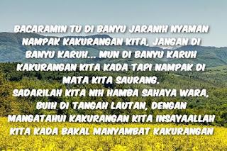 Update Kata Motivasi Bahasa Banjar