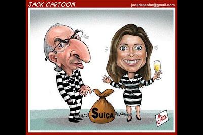 """Cunha diz que Janot quer """"sua pena de morte política""""; pena que a pena seja só a política"""