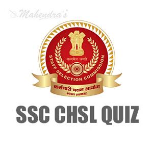 SSC CHSL Quiz