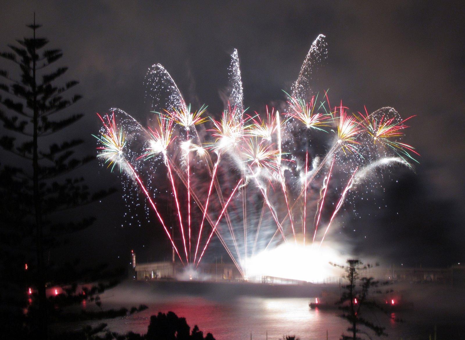 France fireworks, saturday, Atlantic Festival