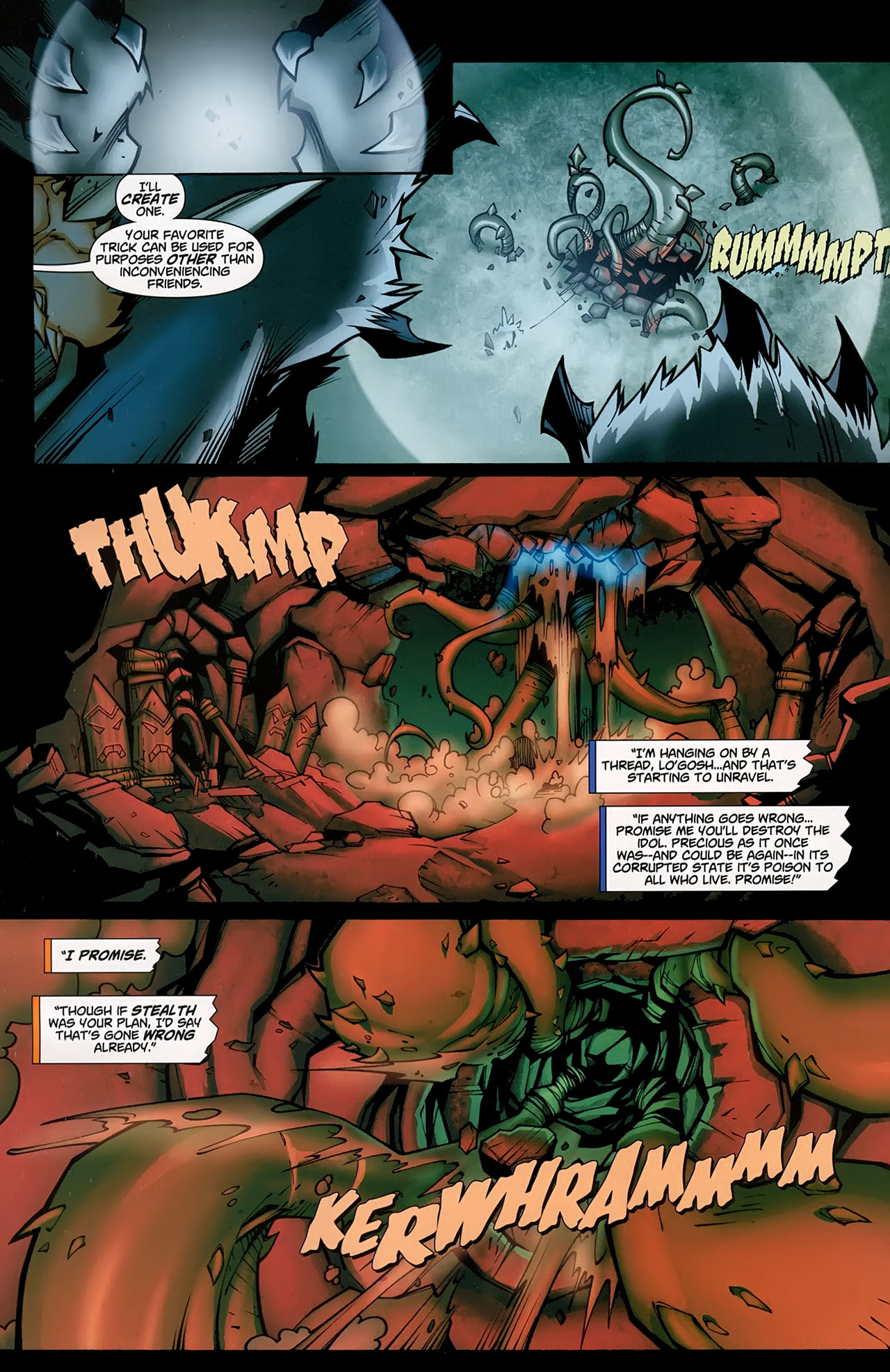 Read online World of Warcraft comic -  Issue #5 - 11