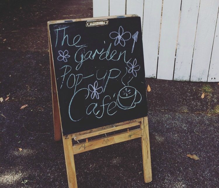 How to Host a Pop-Up Cafe in your Garden