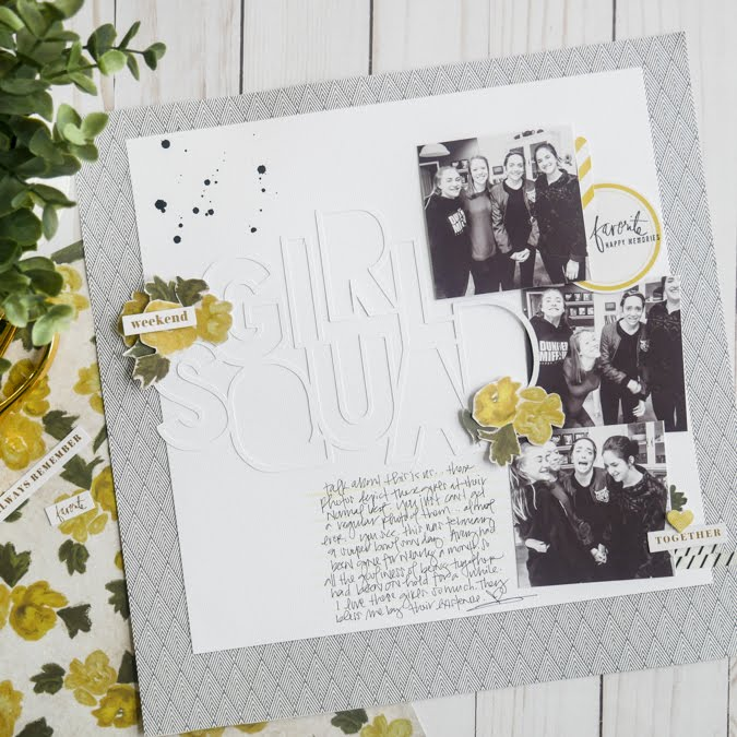 Heidi Swapp Emerson Lane Layout by Jamie Pate | @jamiepate